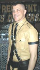 Mr. Regiment 2009 Alex Lindsay 1st Runner-up Mr. LA Leather American Leatherman 2009