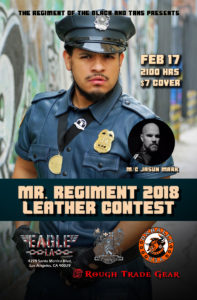 Mr. Regiment 2018 Leather Contest @ Eagle LA | Los Angeles | California | United States