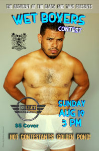 Wet Boxers Contest @ Bullet Bar | Los Angeles | California | United States